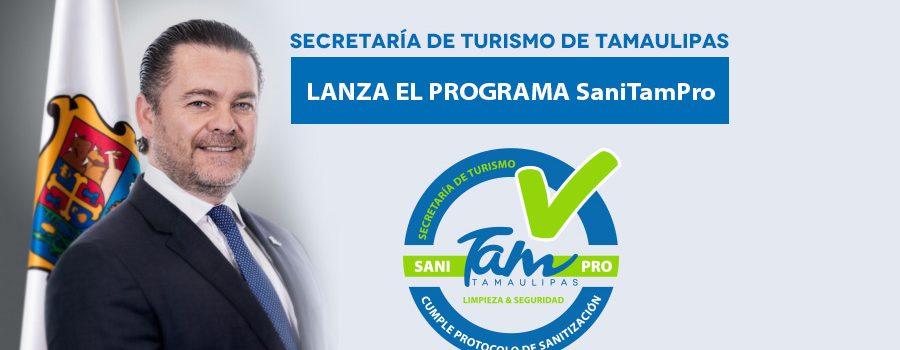 """Secretaría de Turismo de Tamaulipas lanza el programa """"SaniTamPro"""""""