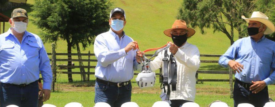 """Se entrega equipo para fortalecer ecoturismo en """"El Cielo"""""""