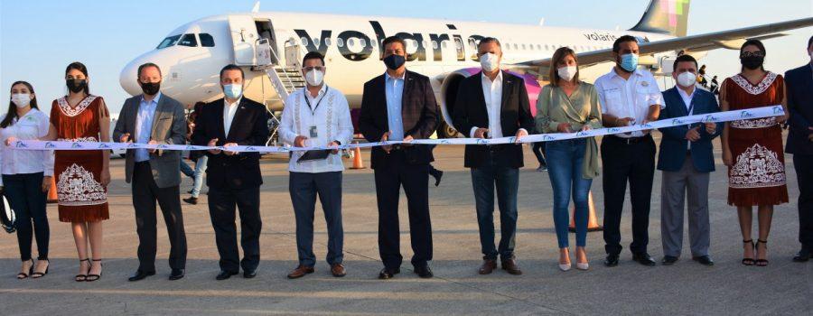 Regreso de Volaris a Tamaulipas fortalece la oferta aérea y turística