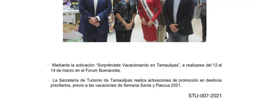 Tamaulipas difunde atractivos y servicios turísticos en la CDMX