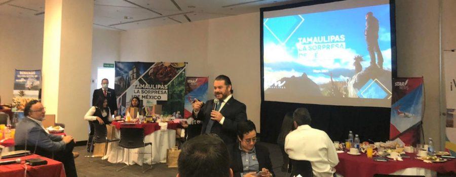 Tamaulipas impulsa sus destinos turísticos en la zona del Bajío