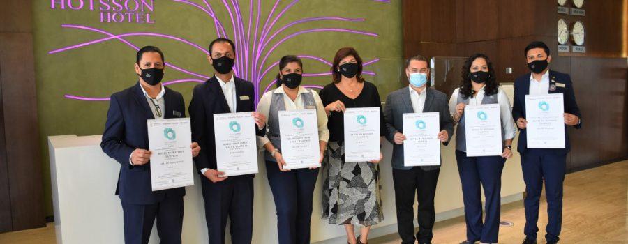 Reconocen buenas prácticas de calidad higiénica en hoteles de Tamaulipas