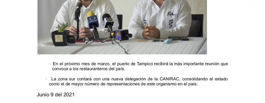Tamaulipas sede de la Asamblea Nacional de la CANIRAC 2022