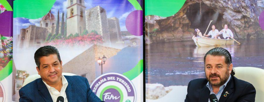 """Tamaulipas se une al """"Día Mundial del Turismo"""""""